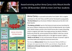 Author Visit: Anna Carey