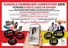 Schools Journalism Competition 2019