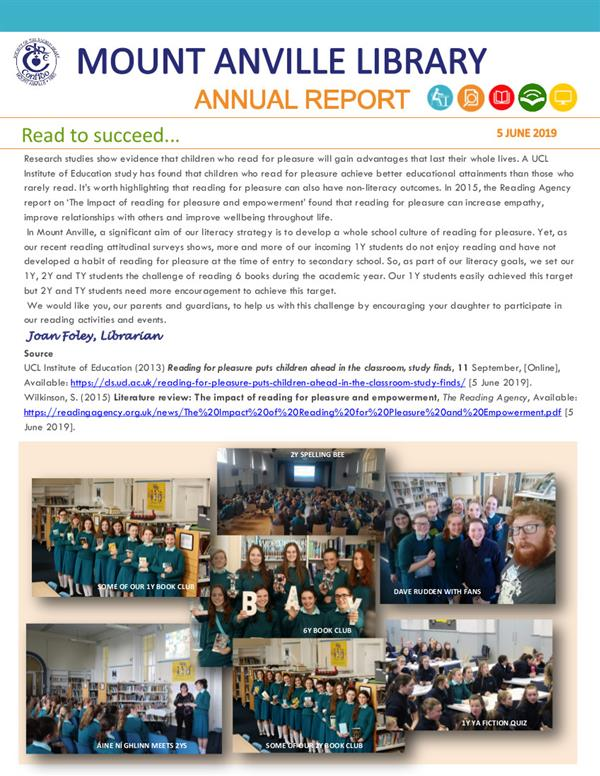 Library Annual Report